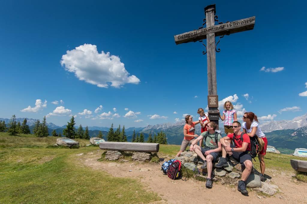 Tourismusverband Radstadt, Sommershooting, Wandern am Rossbrand, Lorenz Masser, Land Salzburg Fotograf