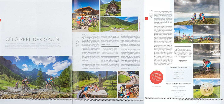 Zeitungsartikel, Radsportszene, Mountainbike, Flachau, Mountainbike, Sunset, Mountain, Sportfotografie, Fotograf Land Salzburg, Lorenz Masser