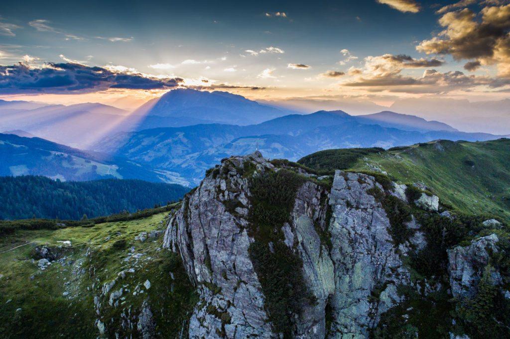 Flachau, Salzburger Land, Landschaft, Sonnenuntergang, Grießenkareck, Saukarkopf, Natur, Landschaft, Landscape, Landschaftsfotografie, Lorenz Masser