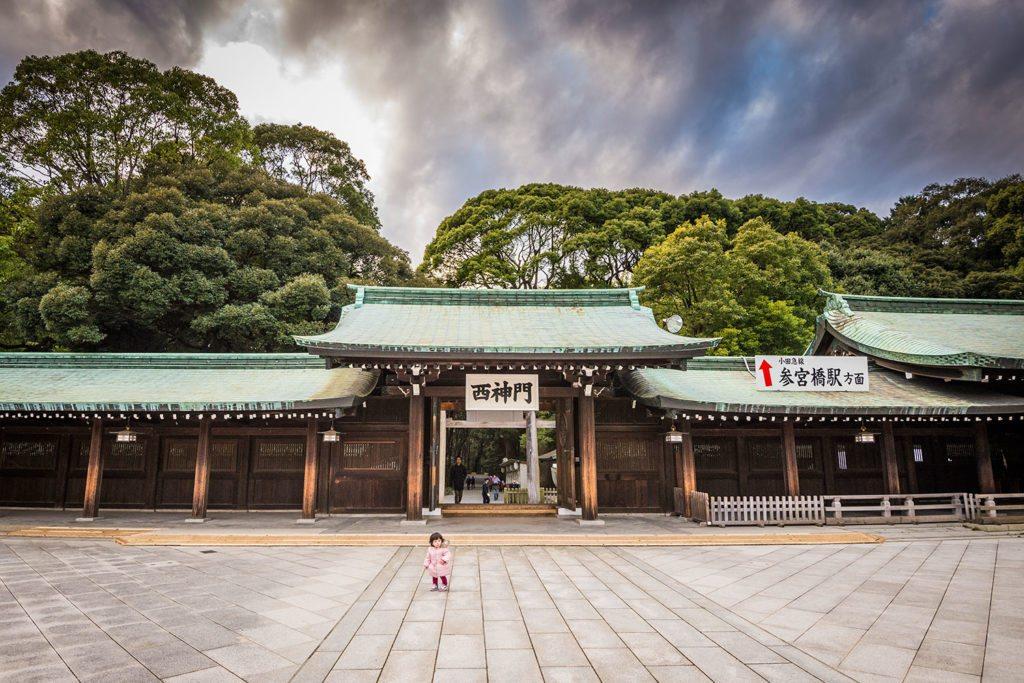 Tempel, kleines Mädchen, Tokyo, Japan, City, Reisefotografie, Travelling, Reisen