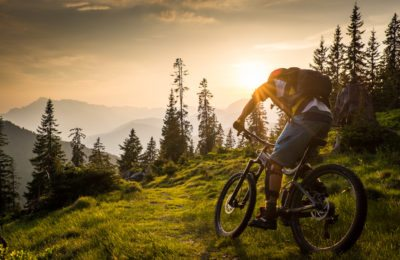 Mountainbike, MTB, Sunset, Action, Sports Photographer, Lorenz Masser, Sportfotografie