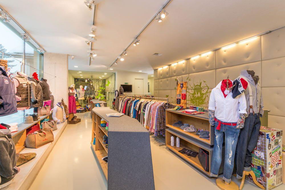 Geschäft Toferer Textil Eben, Werbefotograf