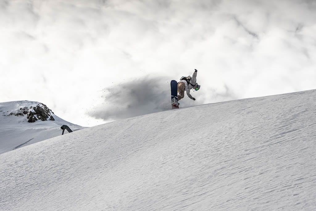 Snowboarden bei Freeride Testival, Sportfotograf Saalbach-Hinterglemm, Powder, Schnee im Home of Lässig