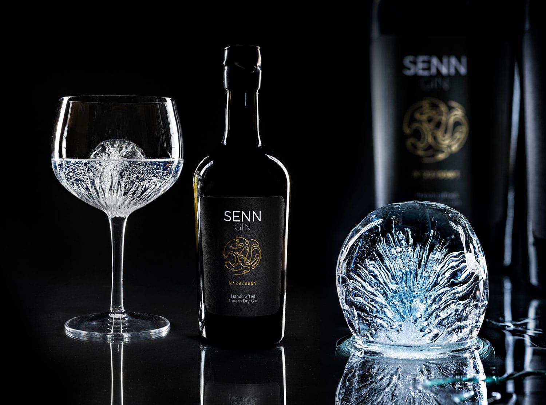 Produktfoto Senn Gin, heimischer Gin von Harald Habersatter
