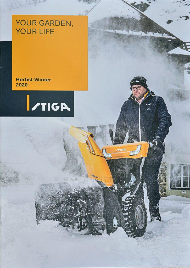 TIGA, Schneefräse, Schnee, Salzburgland, Foto: Lorenz Masser