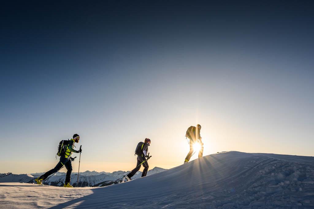 Löffler, Rauris, Skitour, Sonnenschein, Tourenshooting, Foto: Lorenz Masser