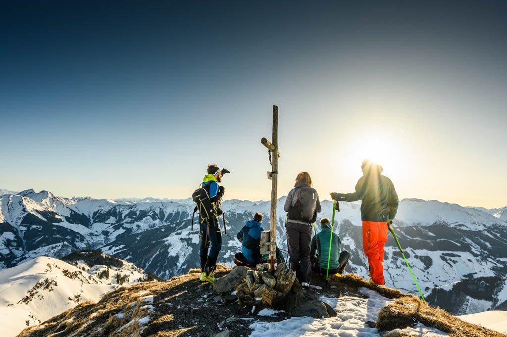 Löffler, Rauris, Kreuz, Skitour, Tourenshooting, Foto: Lorenz Masser