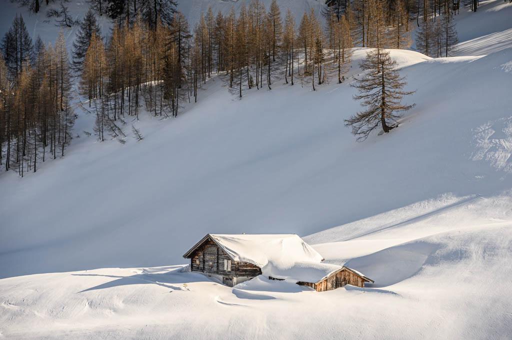 Hütte, Löffler, Rauris, Skitour, Foto: Lorenz Masser