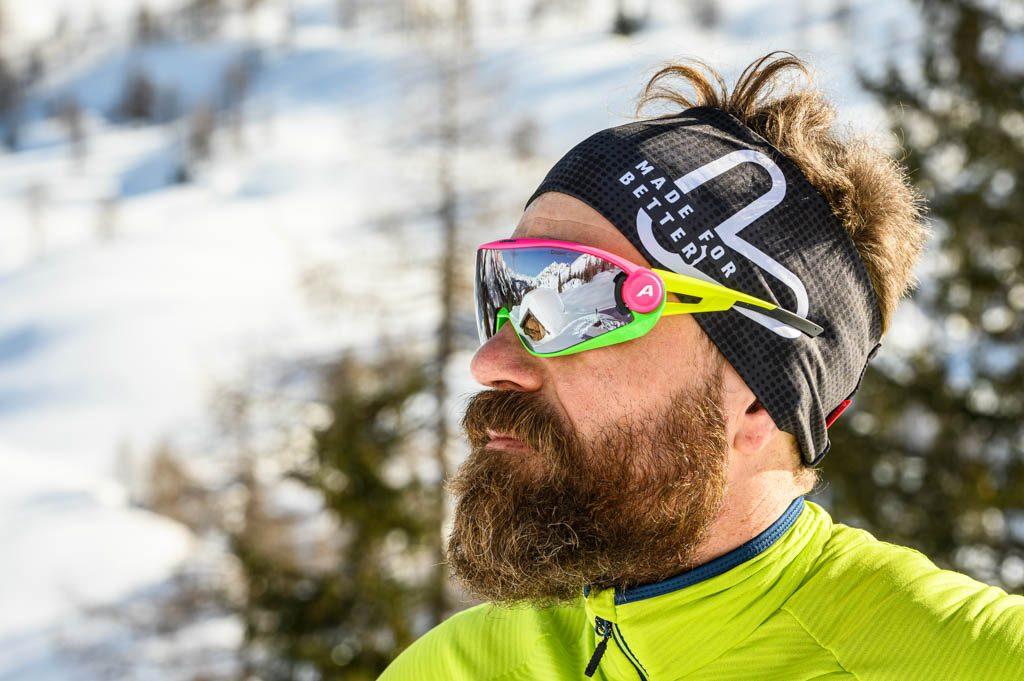Löffler, Rauris, Brille, Mann, Skitour, Foto: Lorenz Masser