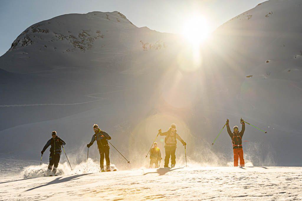 Löffler, Rauris, Skitour, Abfahrt, Tourenshooting, Foto: Lorenz Masser